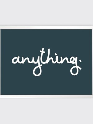 Tom Pigeon 'Anything' Print - 700x500