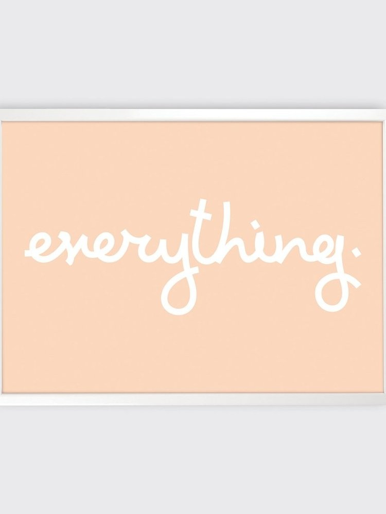 Tom Pigeon Tom Pigeon 'Everything' Print - 700x500