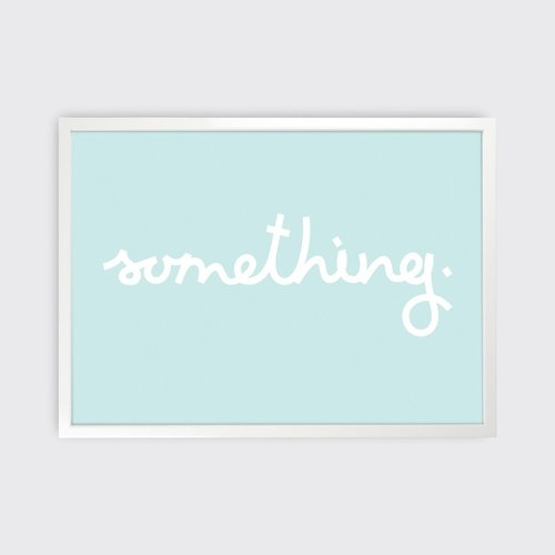 Tom Pigeon 'Something' Print - 700x500
