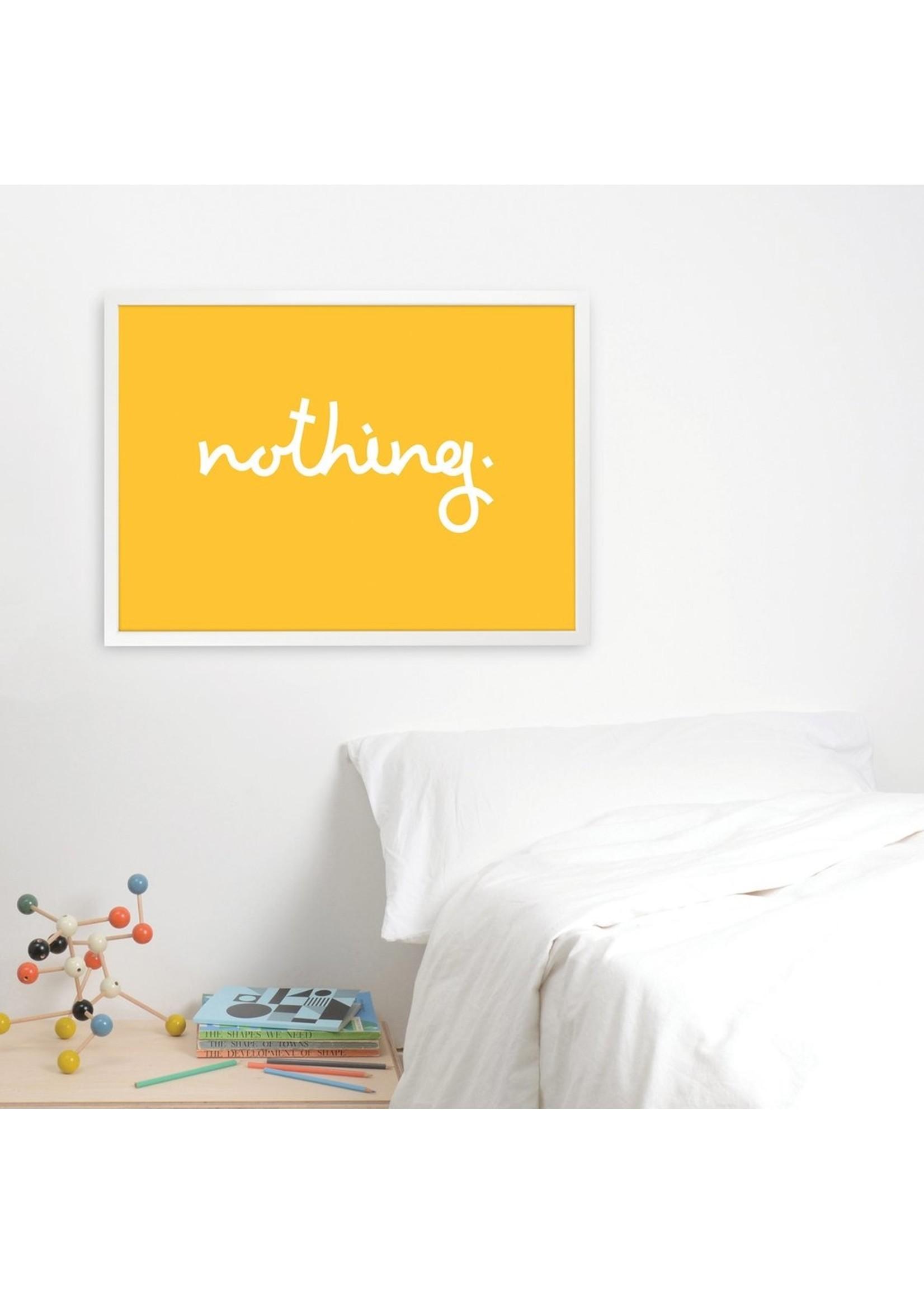 Tom Pigeon Tom Pigeon 'Nothing' Print - 700x500