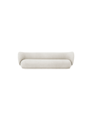 ferm LIVING Rico 4 Seater Sofa - Brushed