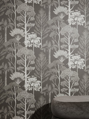 ferm LIVING Katie Scott Trees Wallpaper
