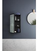 ferm LIVING Haze Wall Cabinet - Wired Glass