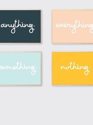 Tom Pigeon Tom Pigeon 'Thing' Prints - Set of 4