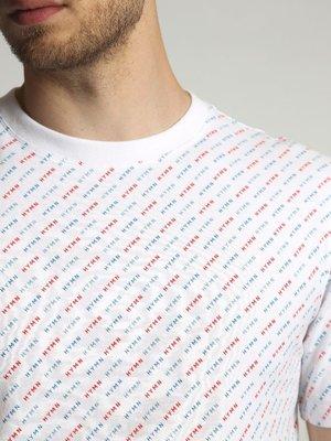HYMN London HYMN 'DRAKE' All Over HYMN Print T-Shirt