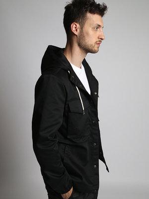 HYMN London 'LEIGH' Black Field Jacket