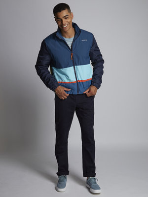 HYMN London 'DAY' - Navy Ski Style Bomber Jacket