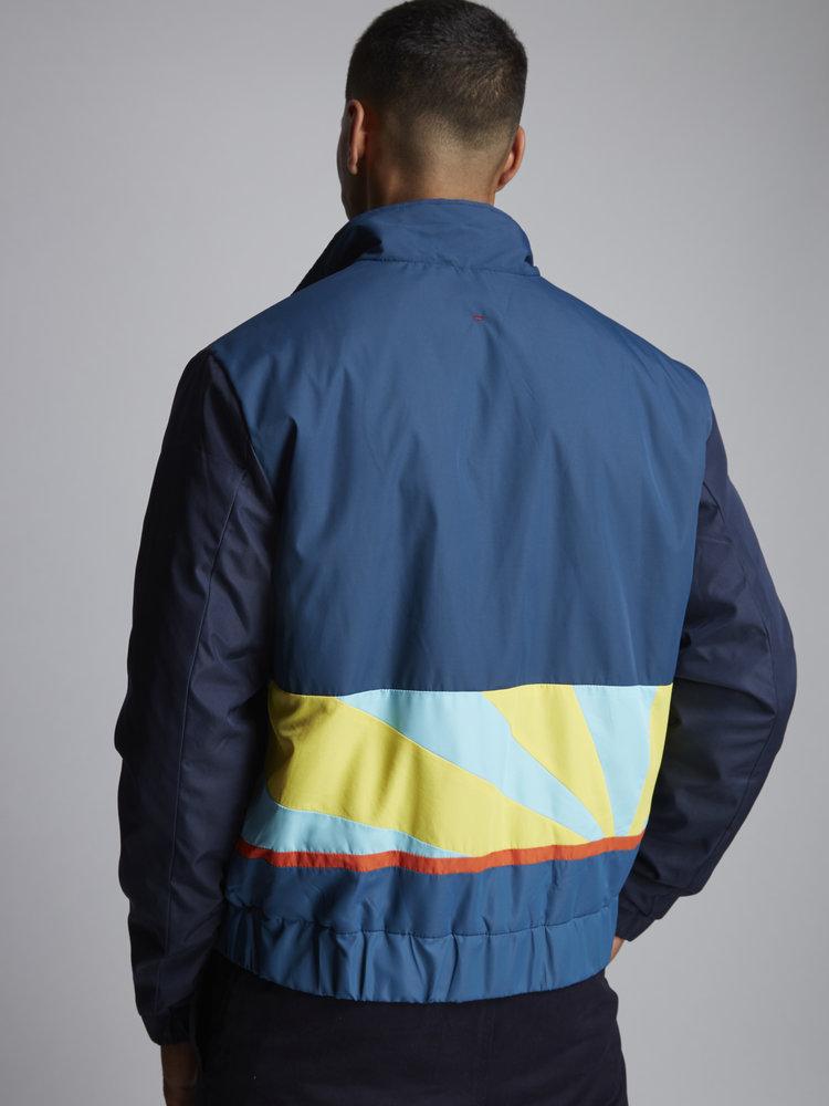 HYMN London HYMN 'DAY' - Navy Ski Style Bomber Jacket