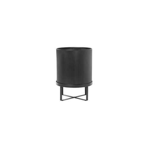 ferm LIVING Bau Plant Pot - Black - Large