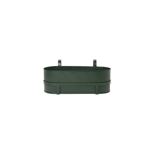 ferm LIVING Bau Balcony Box - Dark Green