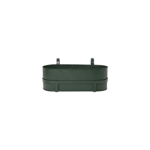 ferm LIVING Bau Balcony Box - Dark Green