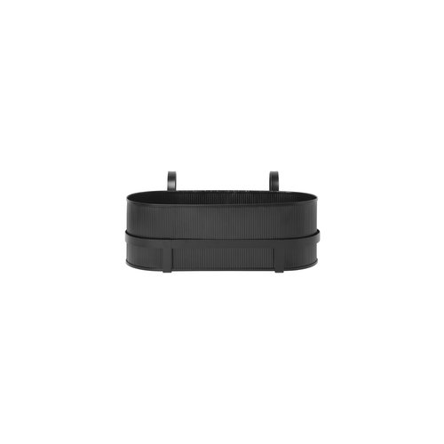 ferm LIVING Bau Balcony Box - Black