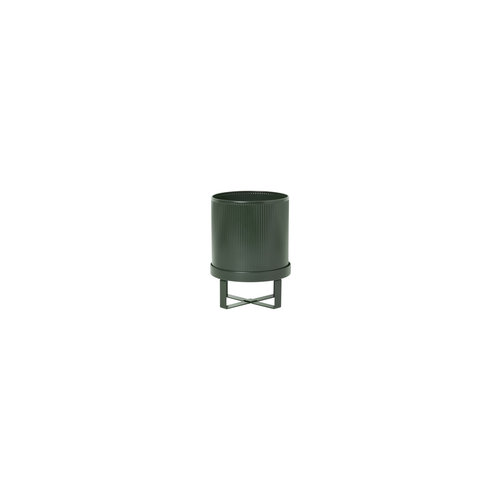 ferm LIVING Bau Plant Pot - Dark Green - Small