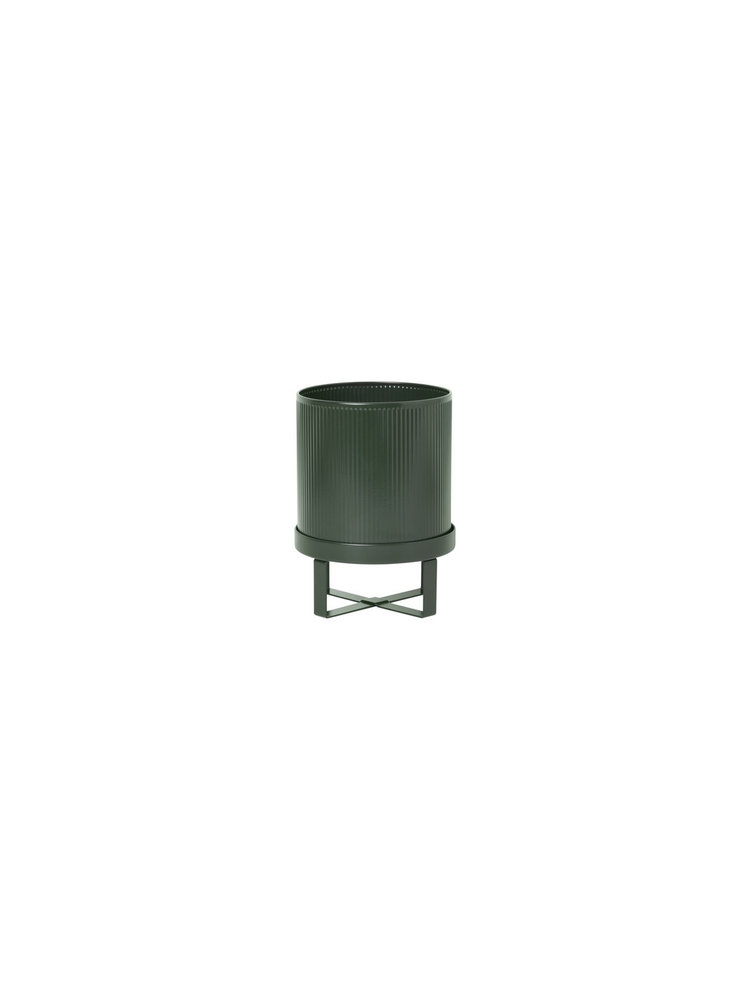 ferm LIVING ferm LIVING Bau Plant Pot - Dark Green - Small
