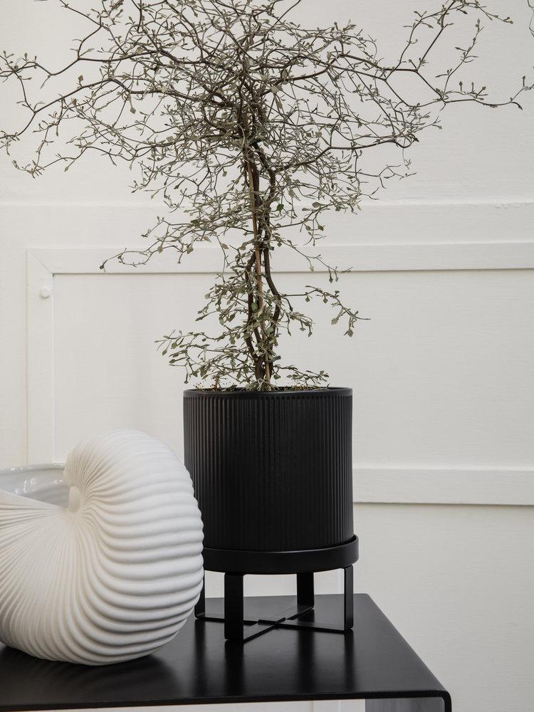 ferm LIVING ferm LIVING Bau Plant Pot - Black - Small