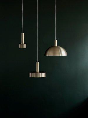 ferm LIVING ferm LIVING Lighting - High Brass Pendant & Disc Shade