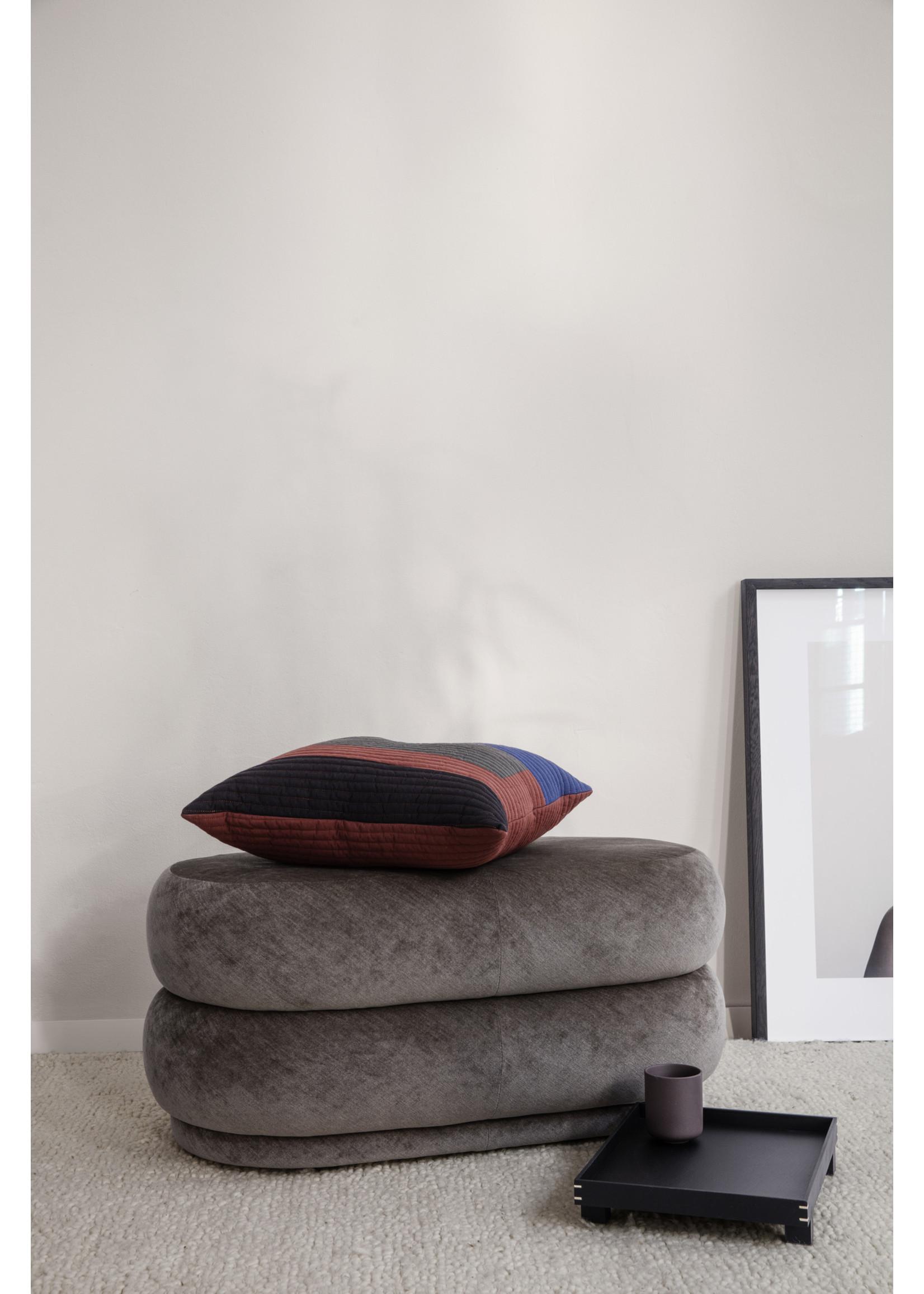 ferm LIVING ferm LIVING Pouf Oval - Faded Velvet
