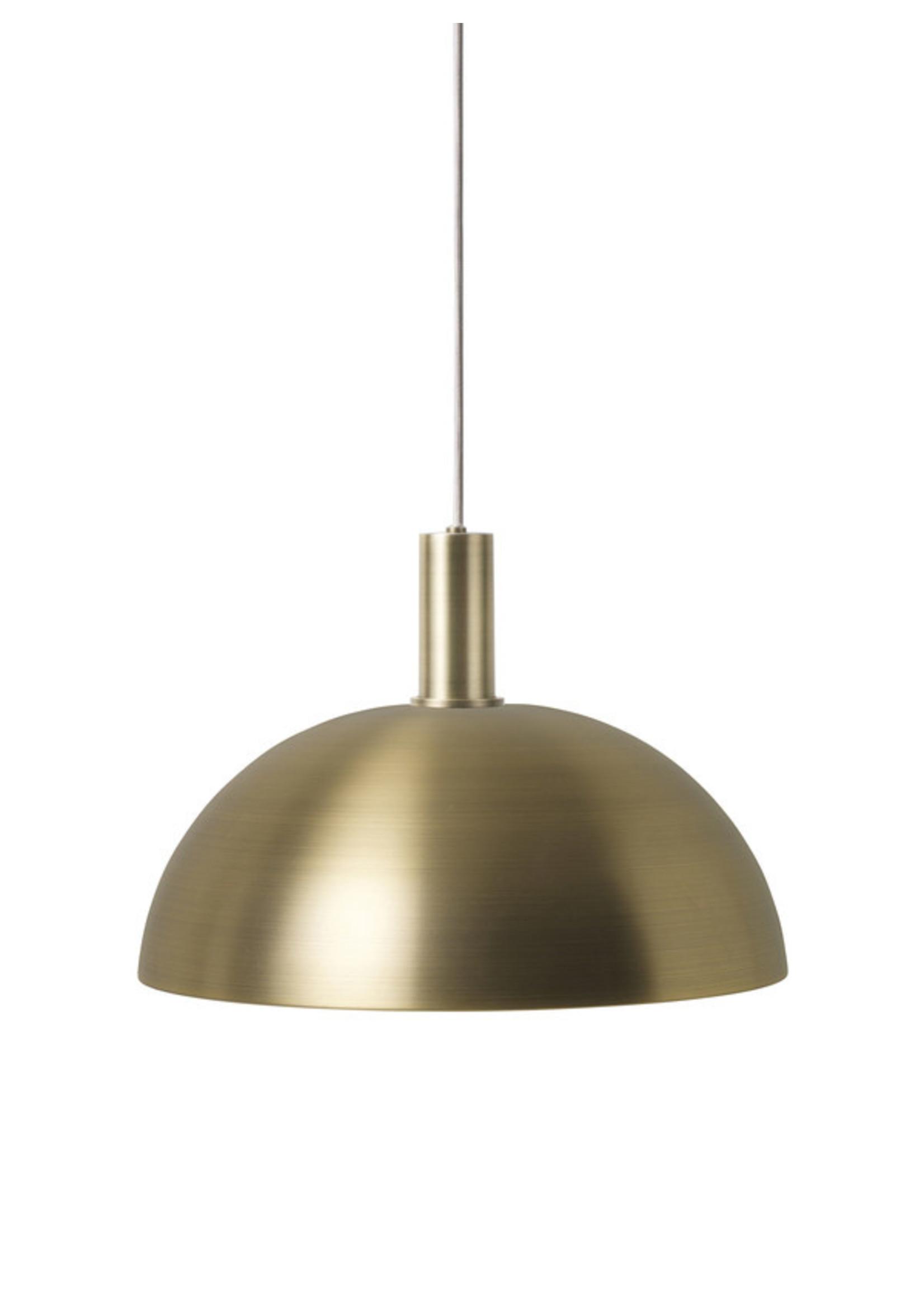 ferm LIVING ferm LIVING Lighting - Socket Pendant Low - Brass