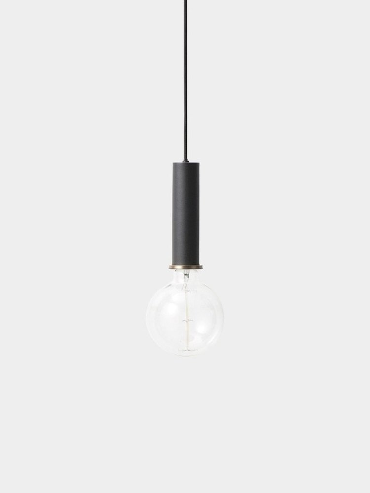 ferm LIVING ferm LIVING Lighting - Socket Pendant High - Black