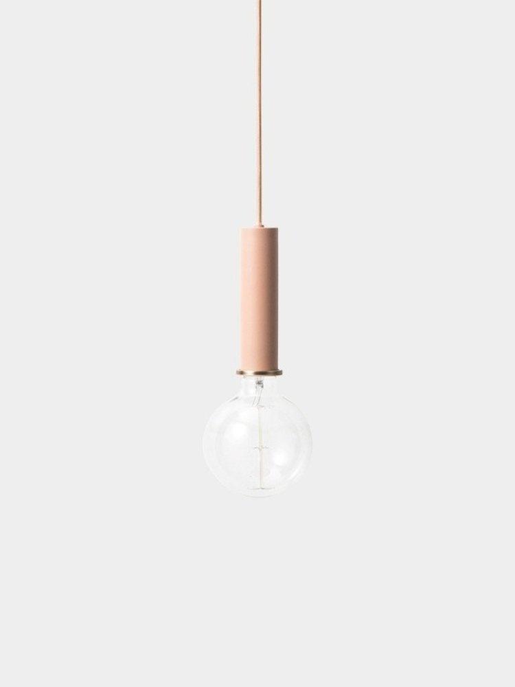 ferm LIVING ferm LIVING Lighting - Socket Pendant High - Rose