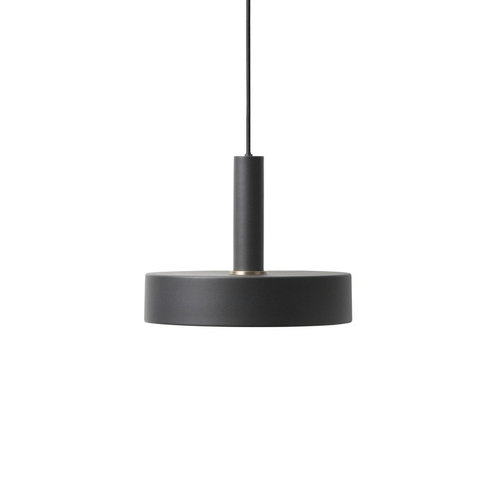ferm LIVING Black High Pendant & Record Shade