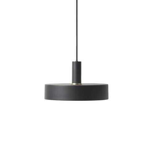 ferm LIVING Black Low Pendant & Record Shade