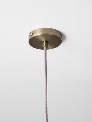 ferm LIVING ferm LIVING Lighting - Low Brass Pendant & Tall Opal Shade