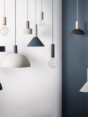 ferm LIVING ferm LIVING Lighting - Black High Pendant & Record Shade