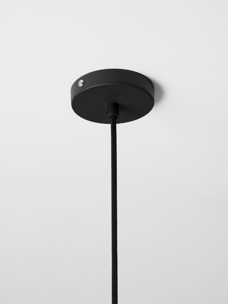 ferm LIVING ferm LIVING Lighting - Black Low Pendant & Record Shade