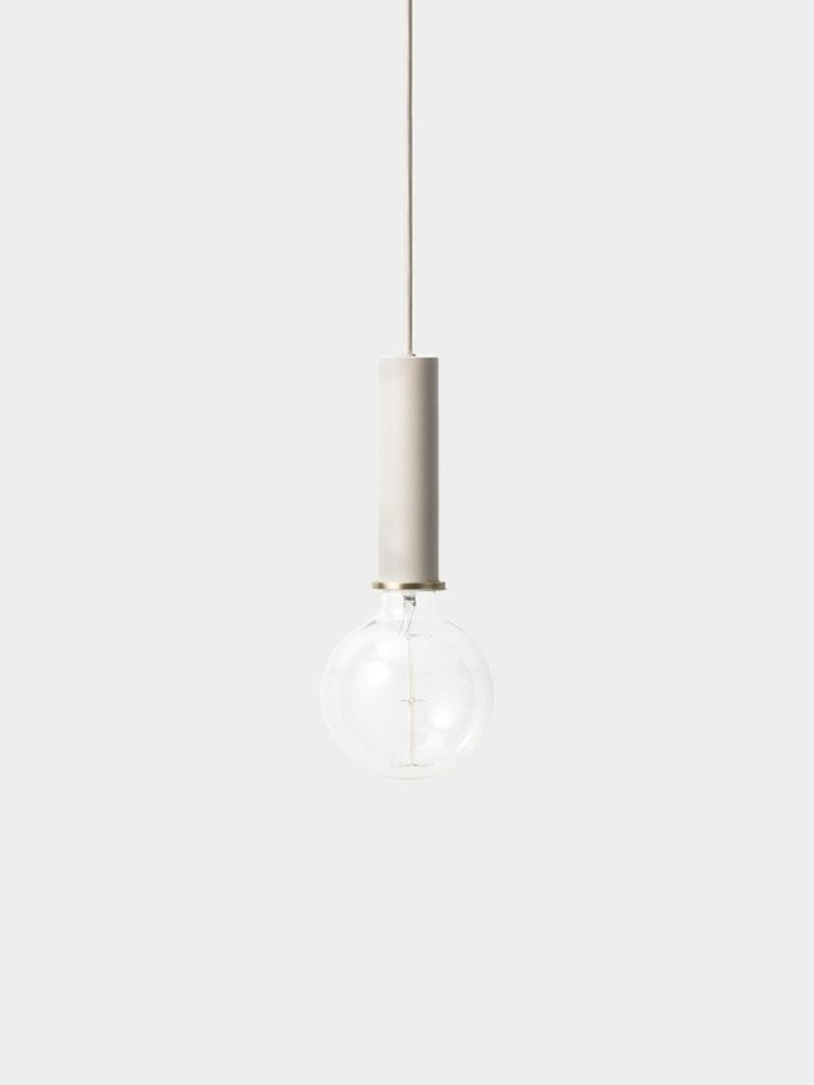 ferm LIVING ferm LIVING Lighting - Socket Pendant High - Light Grey
