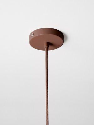 ferm LIVING ferm LIVING Lighting - Socket Pendant High - Red Brown
