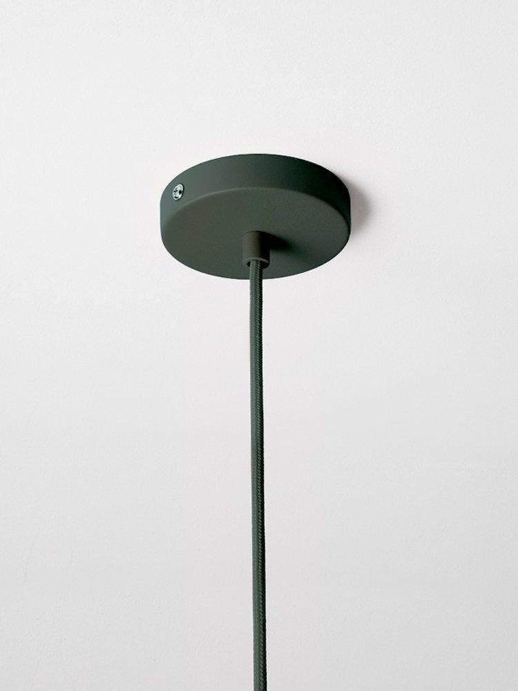 ferm LIVING ferm LIVING Lighting - Socket Pendant Low - Dark Green