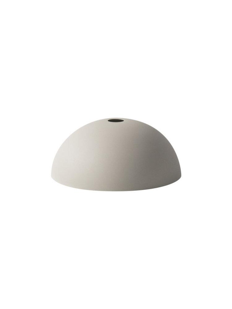 ferm LIVING ferm LIVING Lighting - Dome Shade - Light Grey