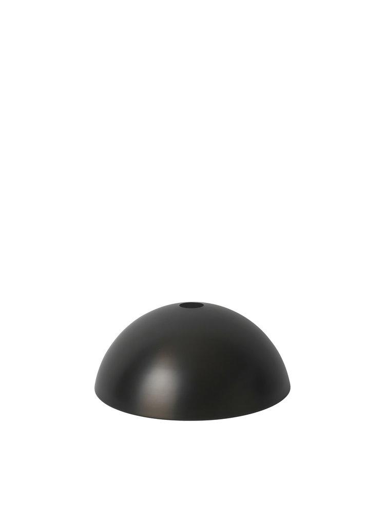 ferm LIVING ferm LIVING Lighting - Dome Shade - Black Brass