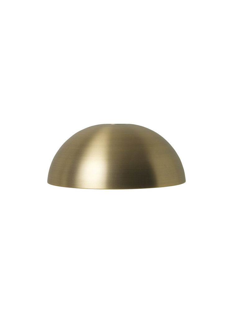 ferm LIVING ferm LIVING Lighting - Dome Shade - Brass