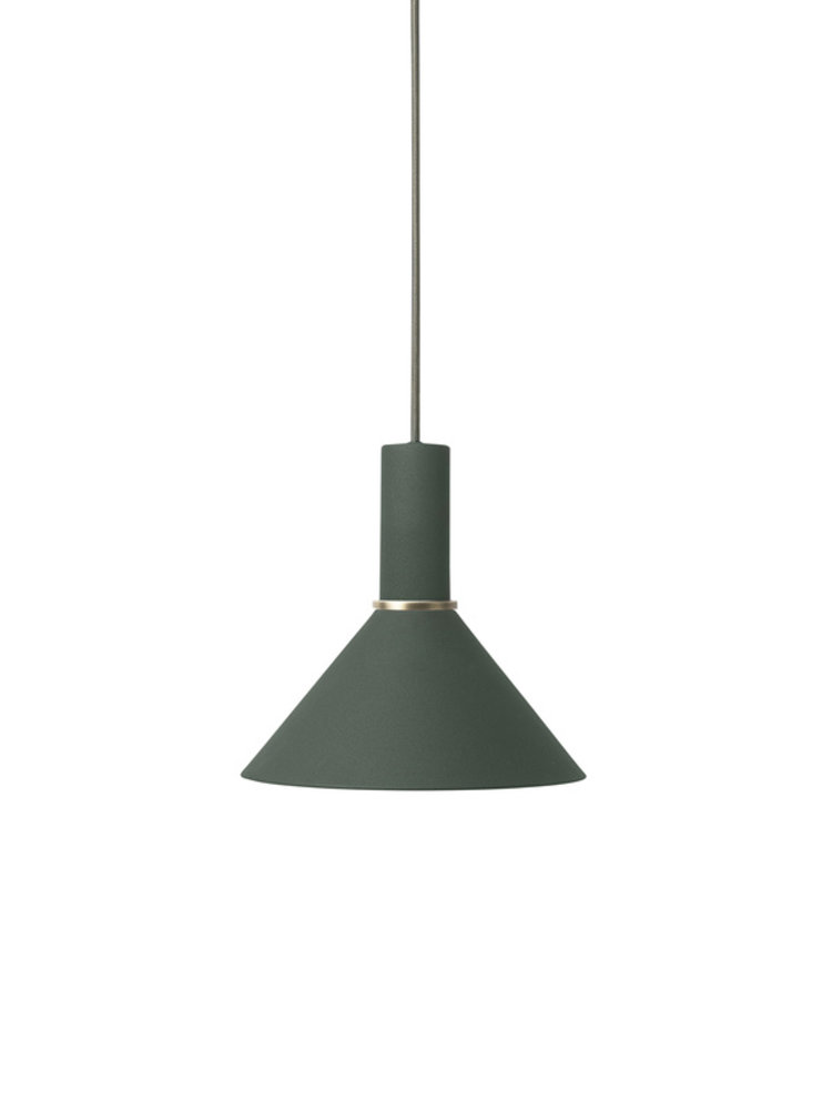 ferm LIVING ferm LIVING Lighting - Cone Shade - Dark Green
