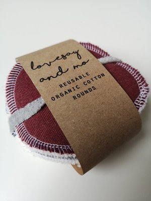 Lovesay & Mo Lovesay & Mo Reusable Cotton Rounds - Small (pack of 7)