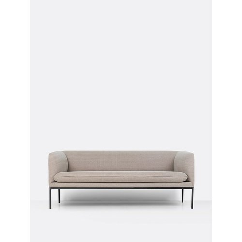 ferm LIVING Turn Sofa - 3 Seater - Natural Cotton/Linen