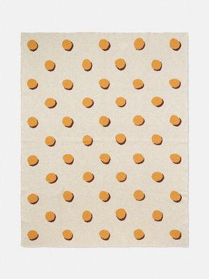 ferm LIVING Double Dot Blanket - Off White