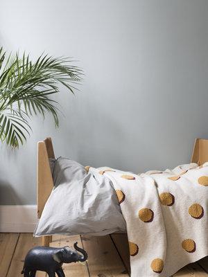 ferm LIVING ferm LIVING Double Dot Blanket - Off White