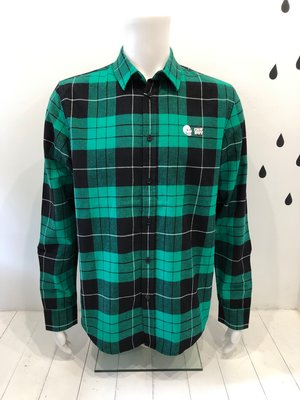 Cheap Monday Fit shirt grass Green tartan