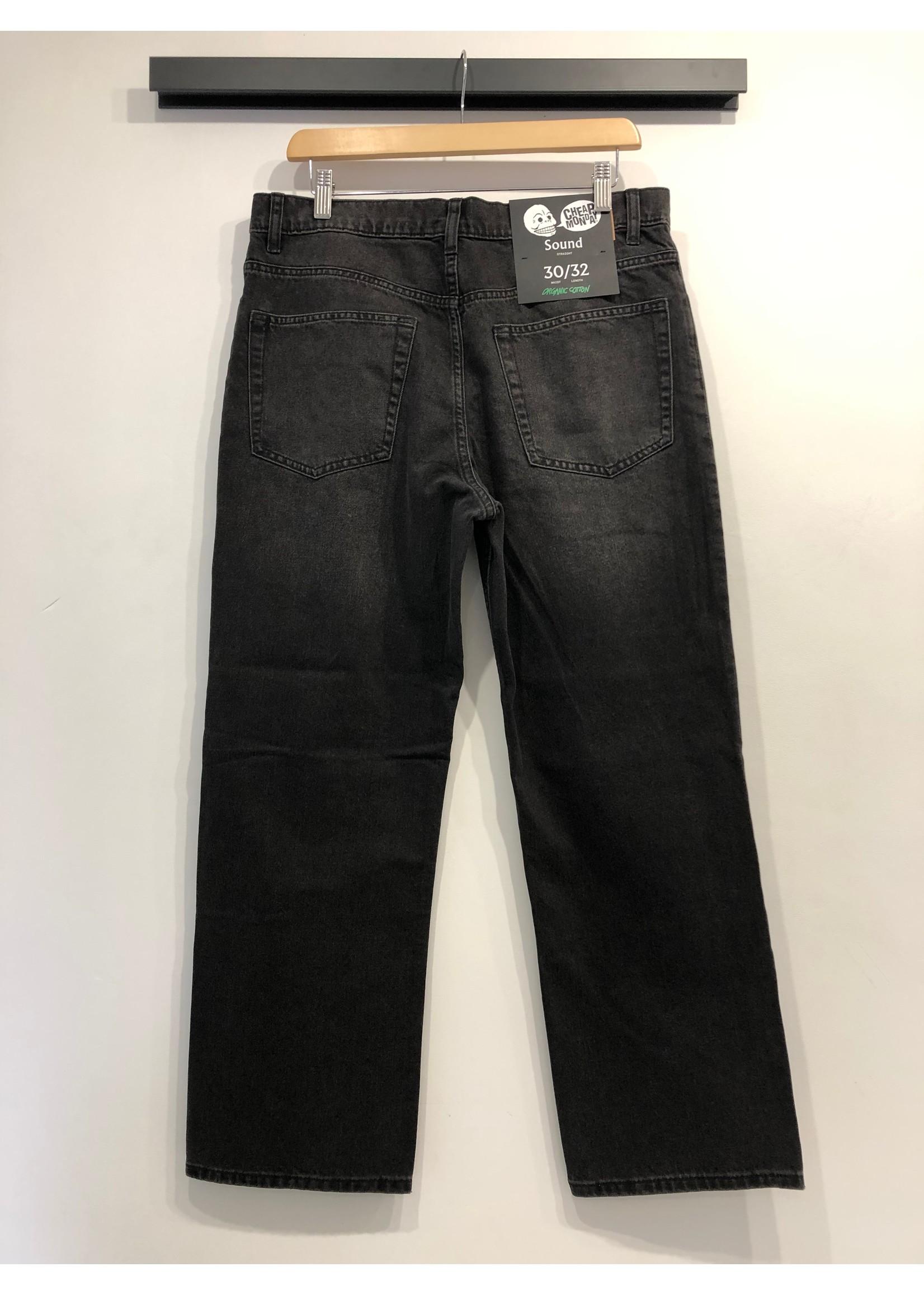 Cheap Monday Sound Black Smoke Denim Jeans
