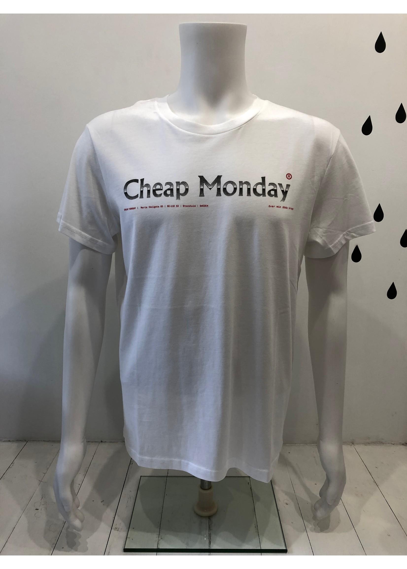 Cheap Monday Standard tee Fade logo