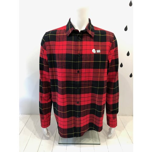Cheap Monday Fit shirt Red tartan
