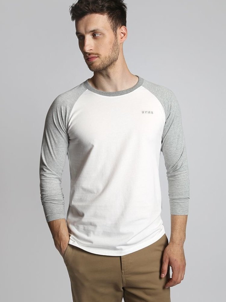 HYMN London HYMN 'BASE' Long Sleeve Grey Top