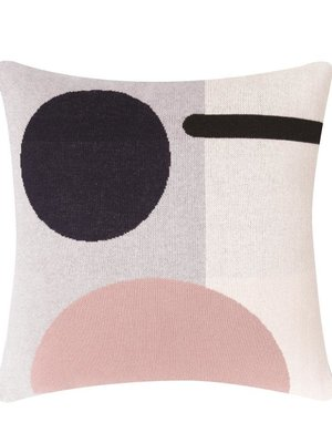 Sophie Home Bleecker Pink Knitted Cushion
