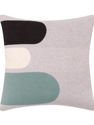 Sophie Home Porter Grey Knitted Cushion