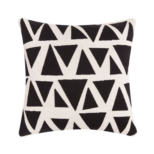 Sophie Home Lennox Mono Knitted Cushion