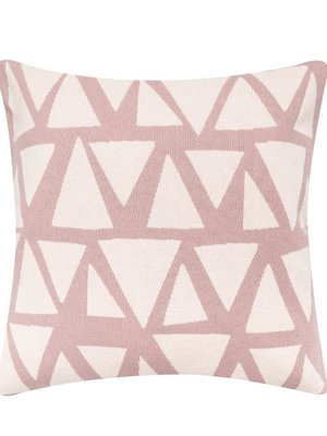 Sophie Home Lennox Pink Knitted Cushion