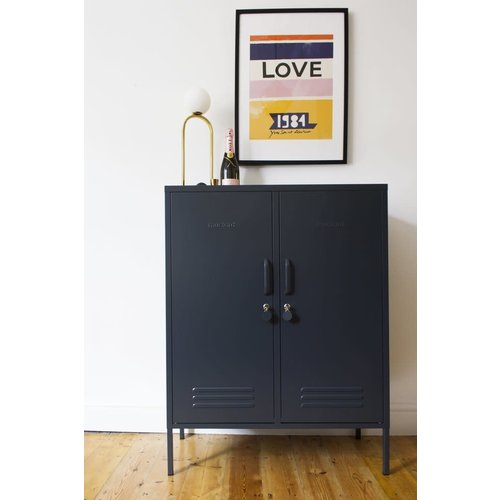 Mustard The Midi Locker in Slate